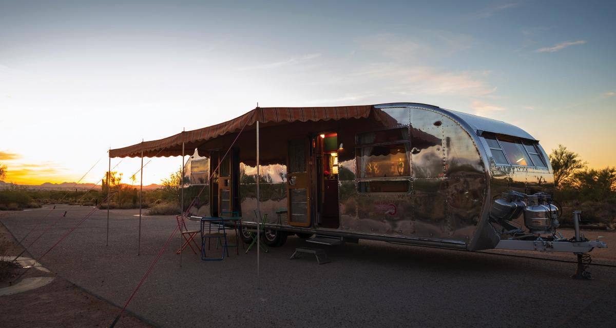 Spartan Spartanette Tandem Camper : un camping-car exceptionnel aux enchères