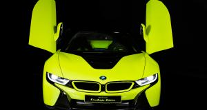 BMW i8 Roadster Limelight Edition: unique en son genre