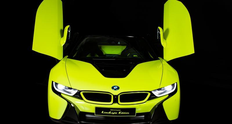 BMW i8 Roadster Limelight Edition: unique en son genre