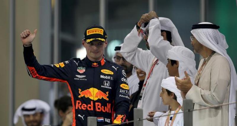 Formule 1 : Verstappen, rival numéro un d'Hamilton pour 2020 ?