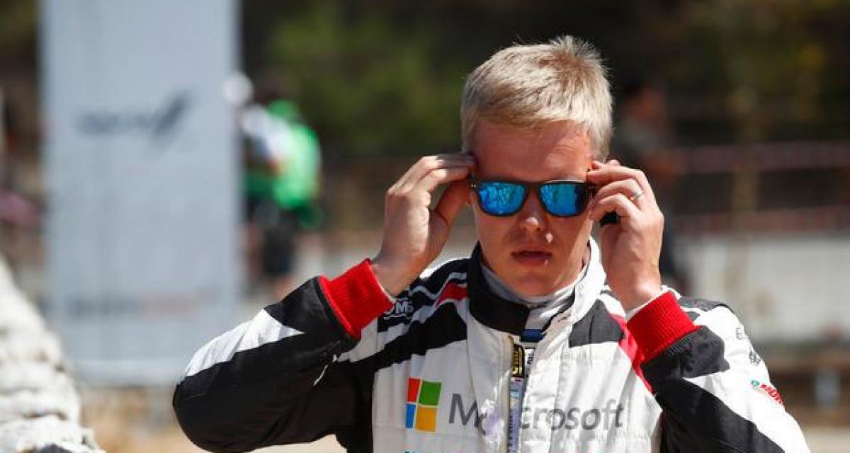 WRC : Ott Tänak effectue son retour avec Hynudai