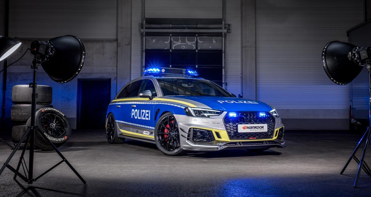 """Audi RS4-R """"Polizei"""" par ABT : le break d'intervention en 3 points"""