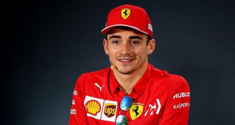 Leclerc pas opposé à une éventuelle arrivée d'Hamilton