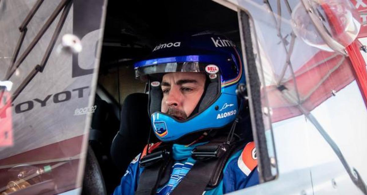"""Dakar 2020 : Alonso """"pas prêt"""" pour la victoire"""