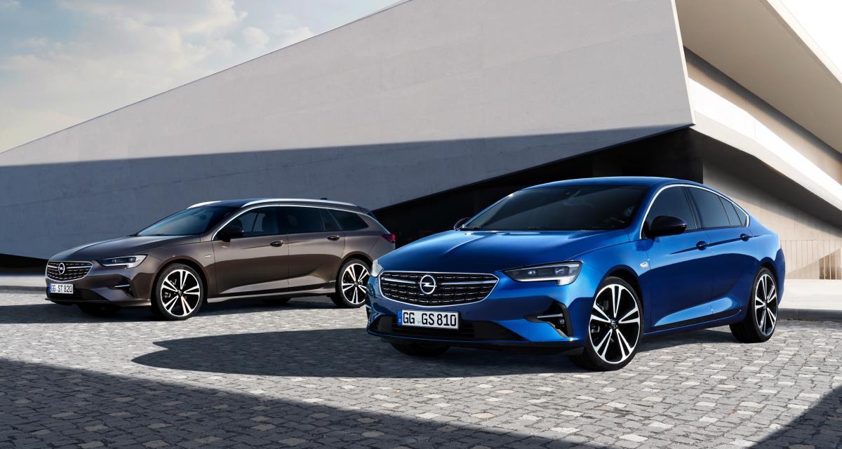 Opel Insignia : la berline restylée en 3 points