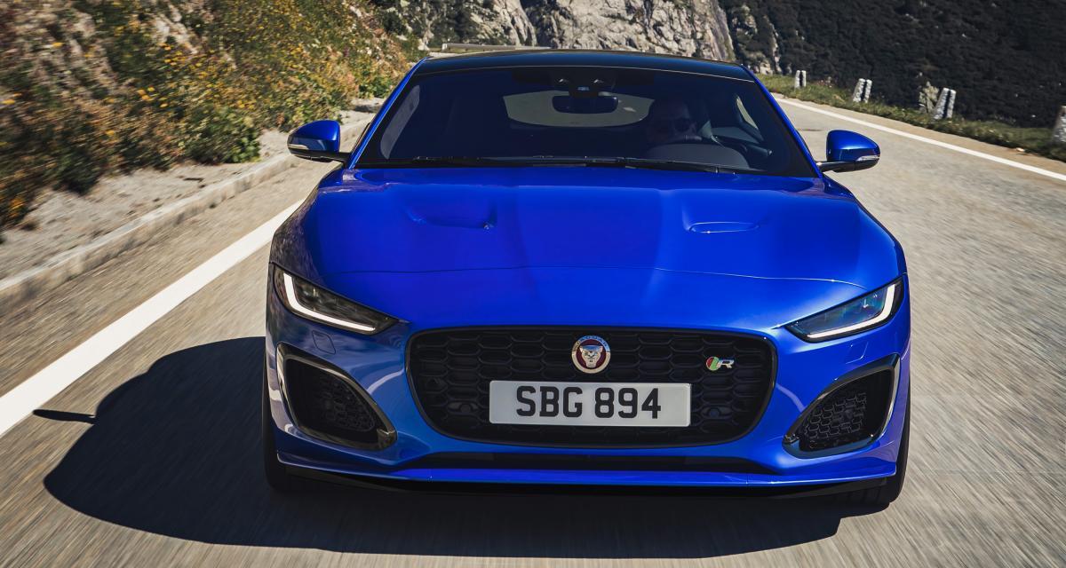 Jaguar F-Type : la sportive anglaise restylée en 4 points