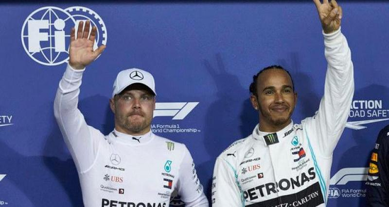 Webber critique la conduite de Bottas