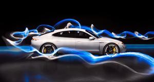 Porsche Taycan : l'art et la lumière