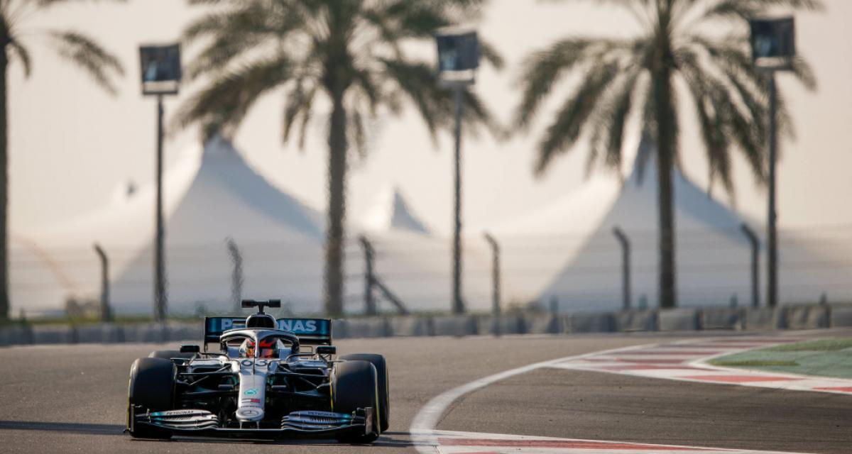 Formule 1 : Russell a testé les pneus 18 pouces avec Mercedes