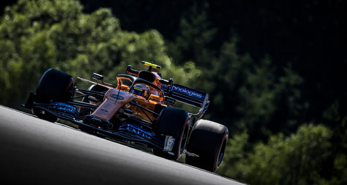 """Lando Norris (McLaren) : """"Je peux être très heureux de la façon dont s'est déroulée la saison"""""""