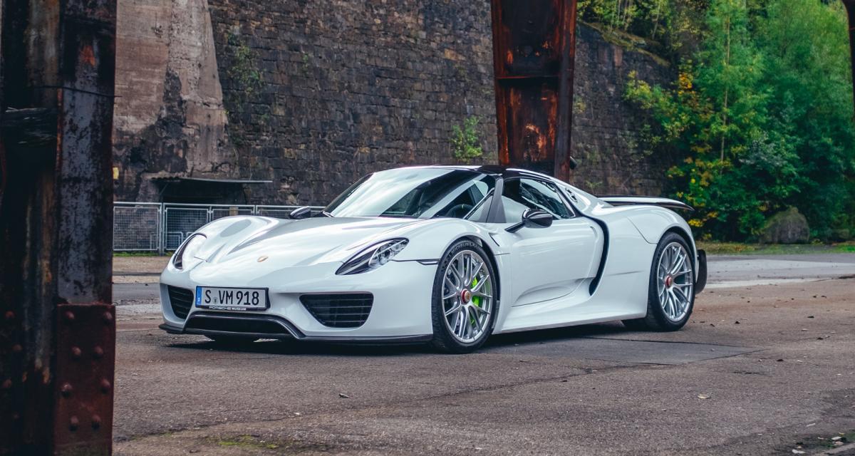 Une Porsche 918 Spyder à 1,2 million d'euros sur leboncoin