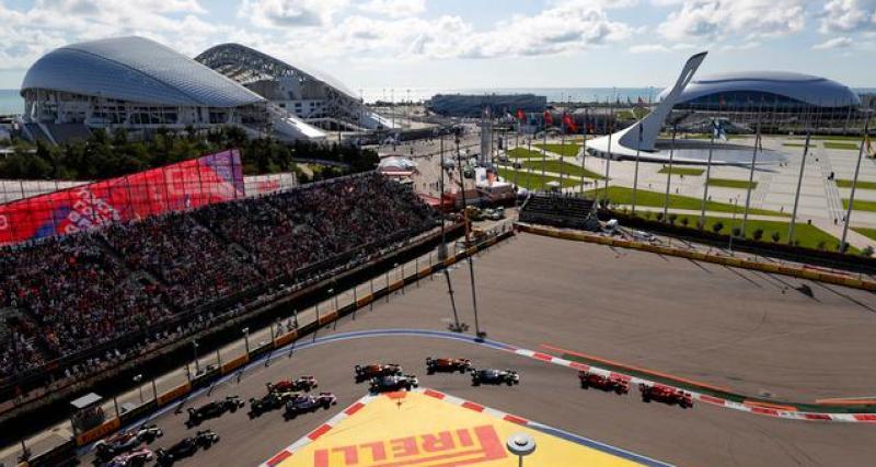 Formule 1 : le Grand Prix de Russie en danger après la décision de l'AMA ?