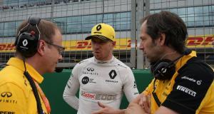 Formule 1 : Hulkenberg fait ses adieux à Renault