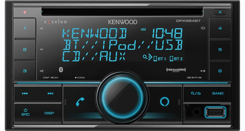Kenwood commercialise un nouvel autoradio avec la commande vocale Alexa d'Amazon