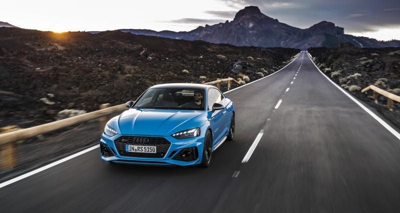 Audi RS5 : coupé et sportback déjà restylés
