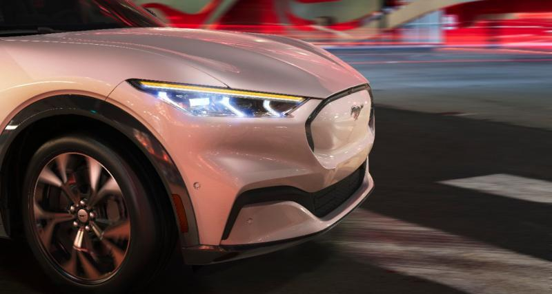 Ford Mustang Mach-E : Ken Block au volant du prototype !