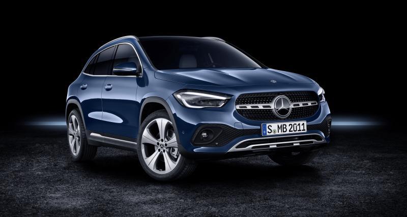 """Mercedes GLA : une nouvelle génération plus """"GL"""" que """"A"""""""