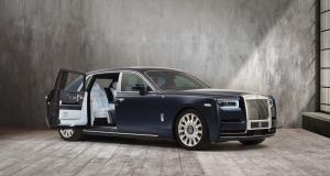 "Rolls-Royce ""Rose"" Phantom : une commande spéciale fleurie"