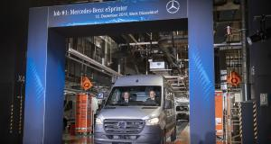 Mercedes eSprinter : lancement de la production à Düsseldorf
