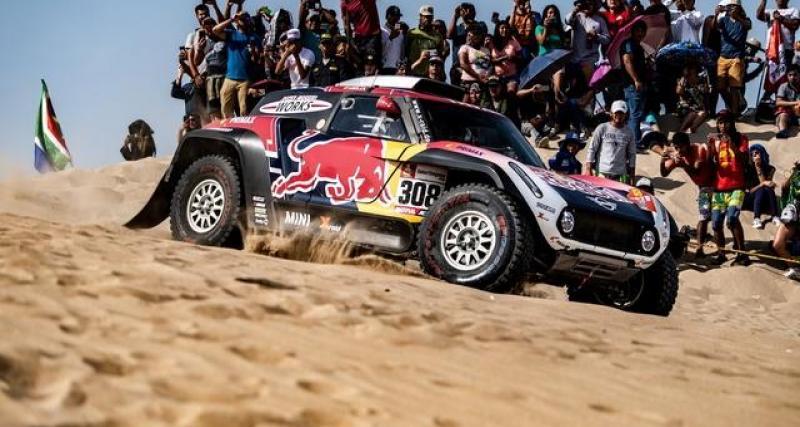 Dakar 2020 : Carlos Sainz, 2ème de la première étape de la Baja Sharqiyah
