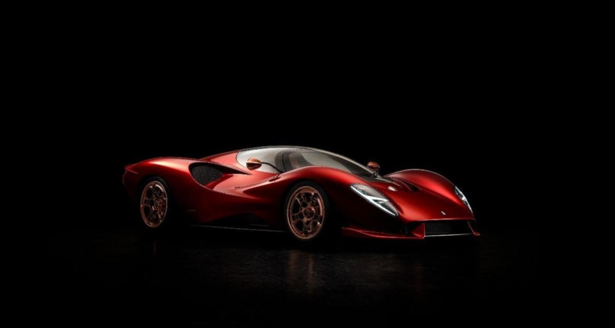 De Tomaso P72: la supercar italienne de 700 chevaux en trois points