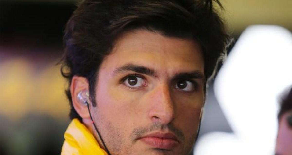 F1 - transfert : Sainz chez Ferrari en 2021 pour remplacer Vettel ?