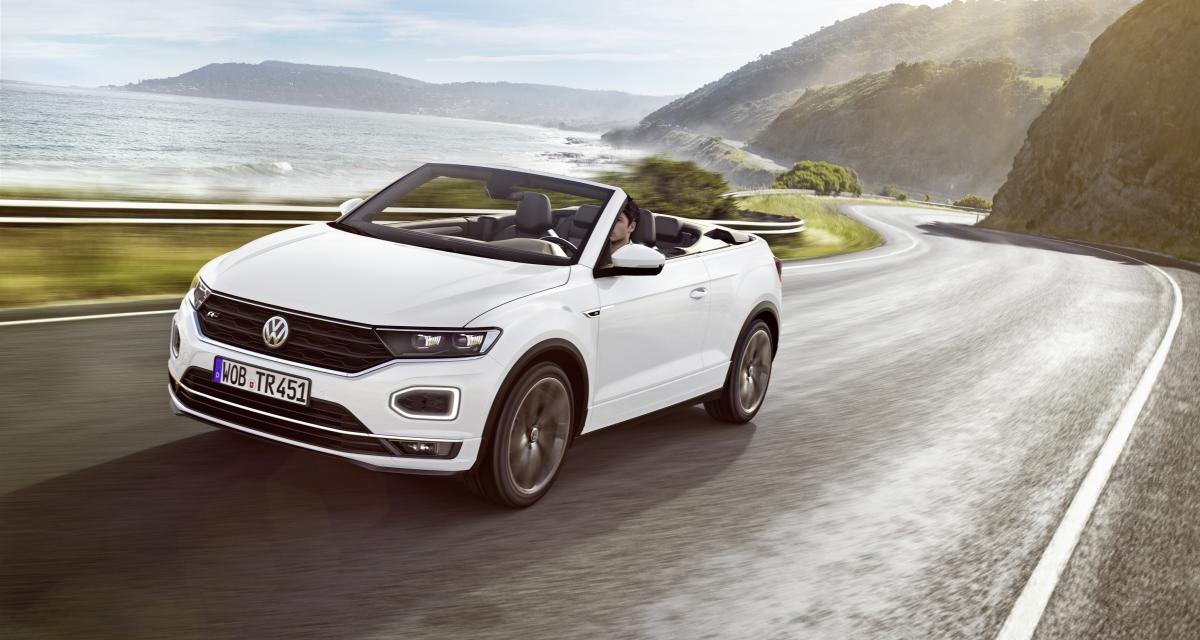 Volkswagen T-Roc Cabriolet : enfin disponible à la commande !