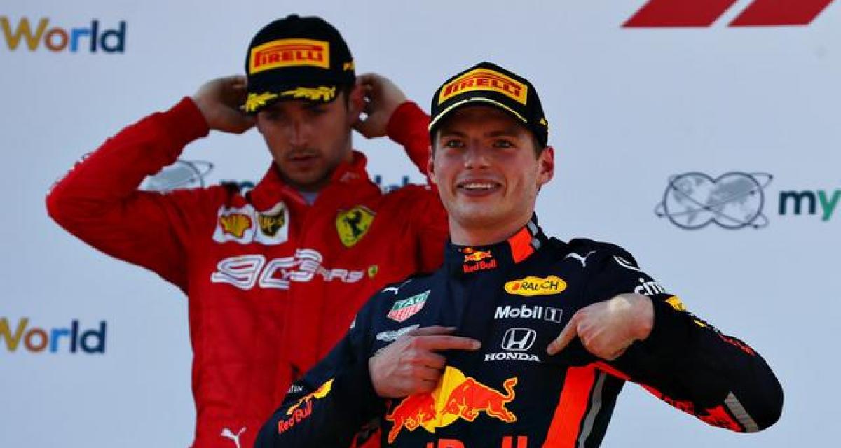 """Max Verstappen sur le moteur Honda : """"très proche de Mercedes"""""""