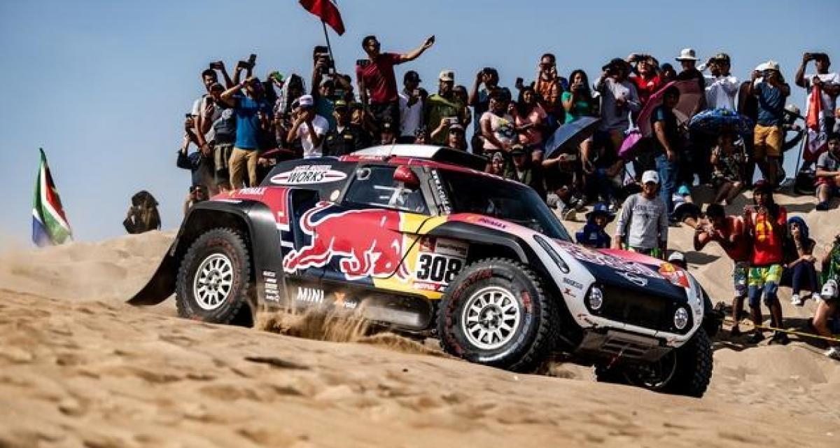 Rallye - Dakar 2020 : un accident spectaculaire mais sans gravité pour un participant de la Baja Sharquiyah