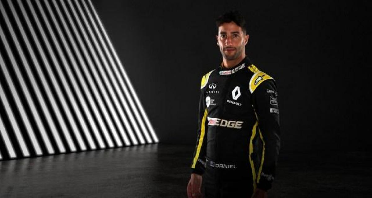 """Daniel Ricciardo : """"Quand j'ai signé pour Renault, je savais qu'il y avait encore du travail à faire"""""""