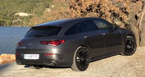 Mercedes CLA Shooting Break : nos photos de notre essai