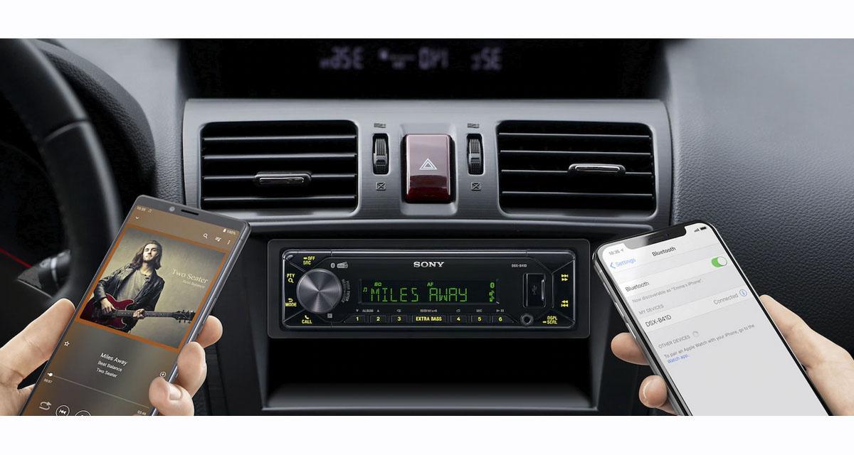 Sony dévoile un nouvel autoradio numérique avec tuner DAB