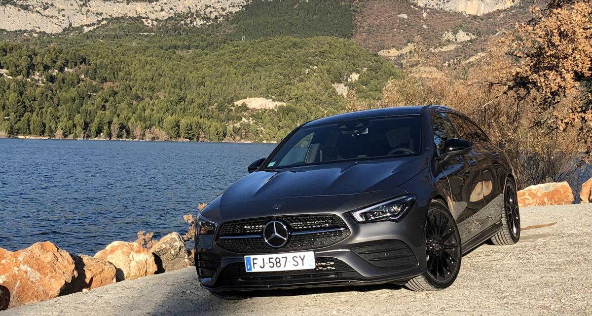 Essai Mercedes CLA Shooting Break : le style, avant tout