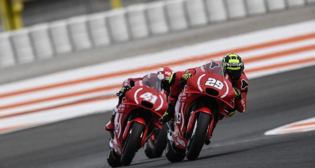 Moto GP : Andrea Iannone suspendu pour dopage