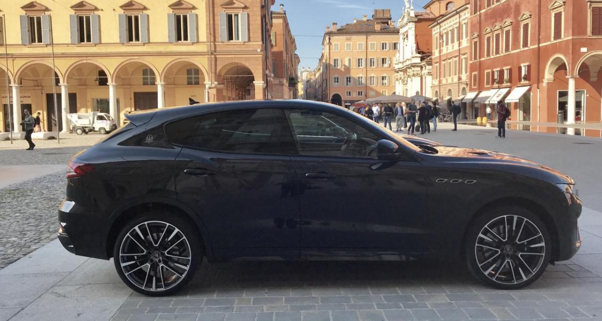 Course-poursuite avec la police en Maserati Levante à 160 km/h