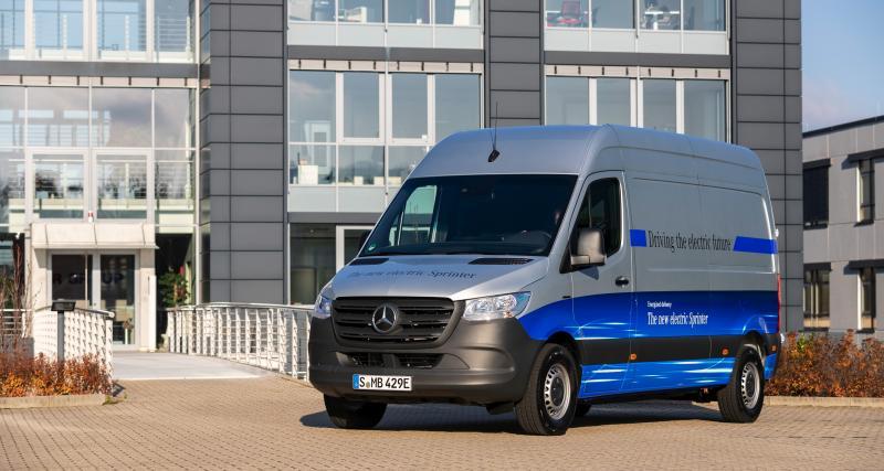 Mercedes eSprinter : à chacun son autonomie