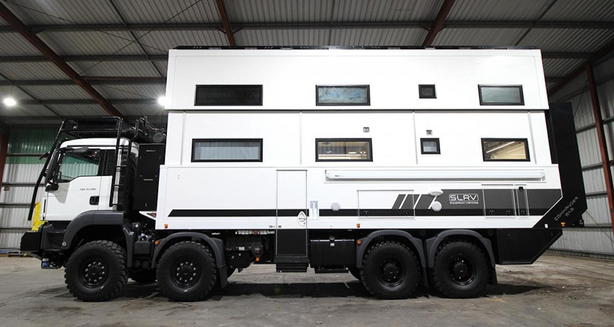 Commander 8x8 SLRV : une maison sur 8 roues à 2 millions de dollars !