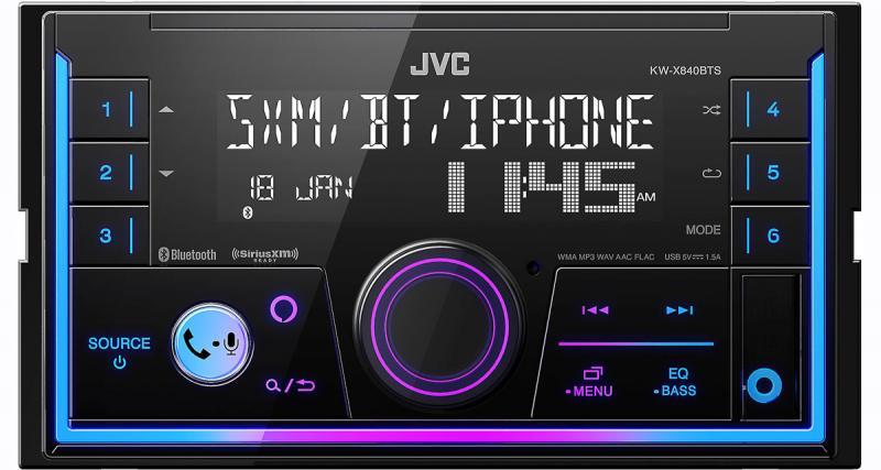 JVC commercialise un nouvel autoradio intégrant la commande vocale Alexa