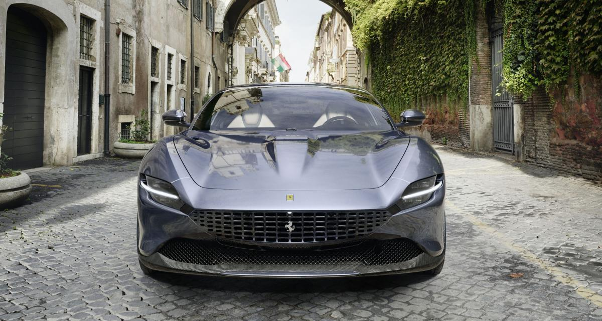 Ferrari Roma : pure et techno