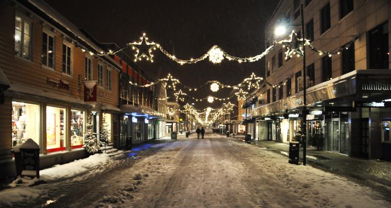 Un Père Noël anti radar tourelle à Strasbourg
