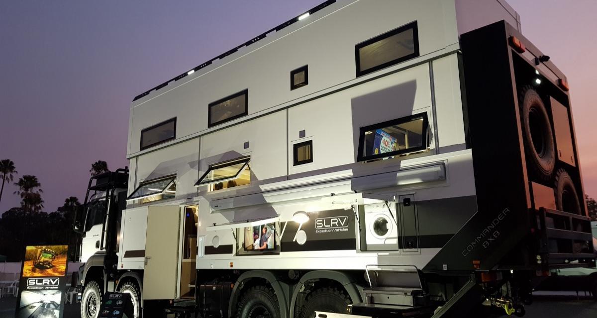 Camping-car Commander 8x8 : million dollar baby en trois points