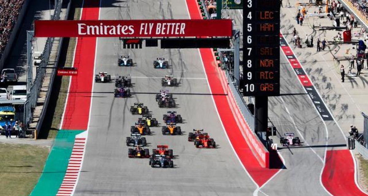 F1 : une fréquentation en hausse pour 2019