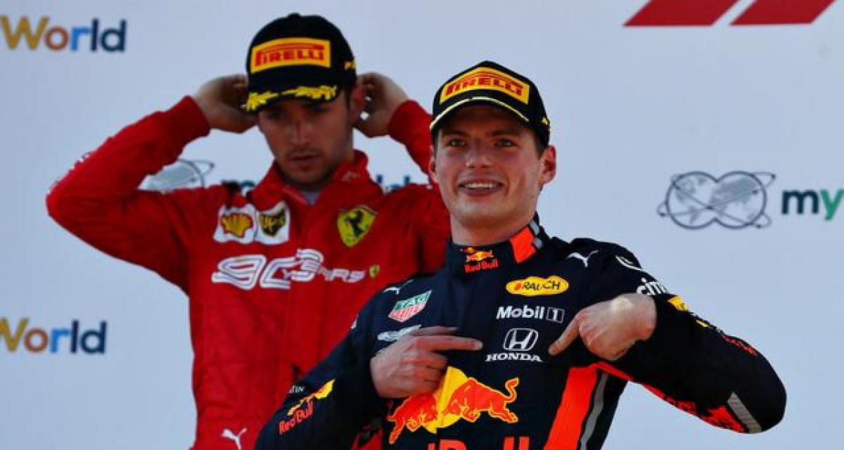 """Max Verstappen : """"Avec Mercedes, 60% des pilotes seraient champions du monde"""""""