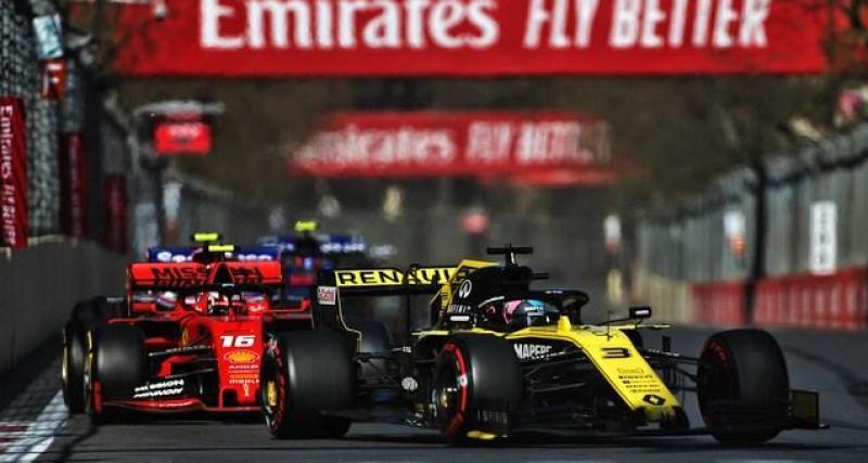 F1 : Ricciardo vise un podium en 2020