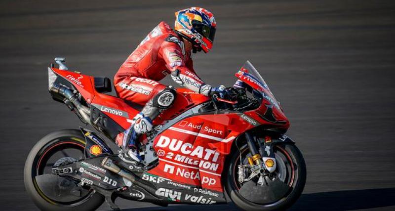 Ducati, deuxième équipe à dévoiler sa nouvelle moto après Susuki