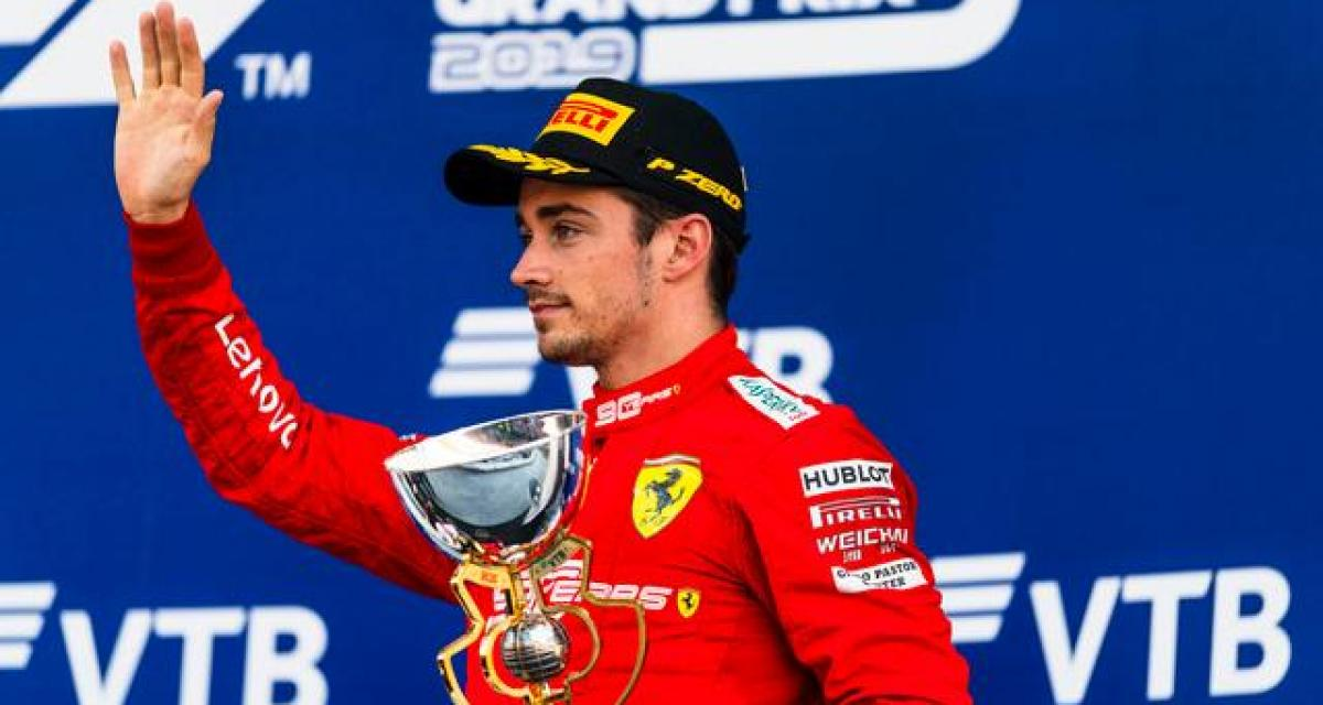 F1 : Leclerc prolongé par Ferrari jusqu'en 2024 (officiel)