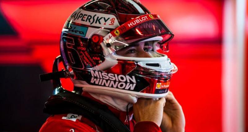 Leclerc, bien intégré dans la cellule Ferrari