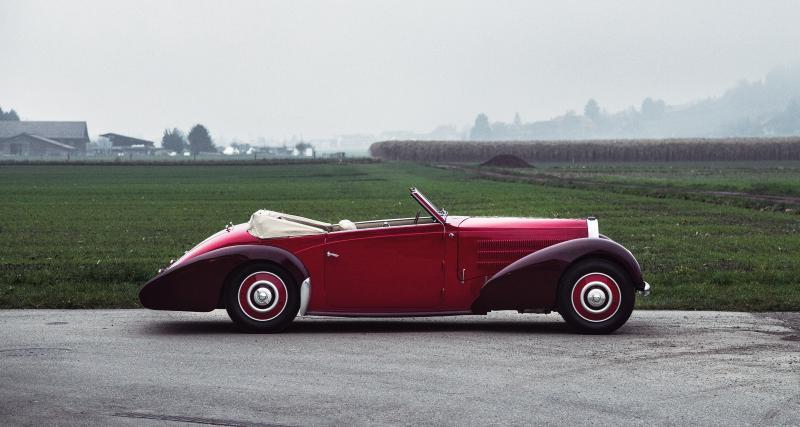 Bugatti Type 57C Stelvio par Gangloff aux enchères : Cruella n'a qu'à bien se tenir