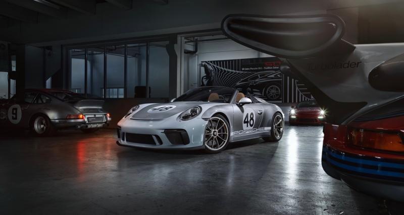 Porsche 911 type 991 : le dernier modèle est sorti des lignes de production