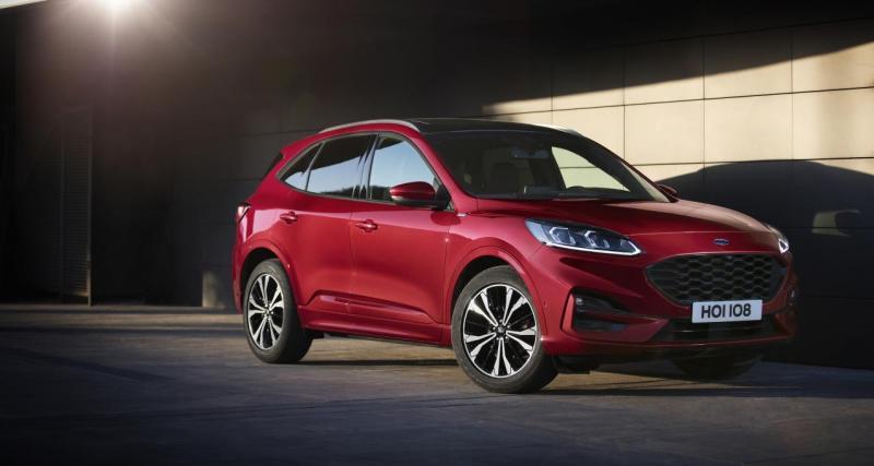 Nouveau Ford Kuga essence et Diesel : les prix du SUV dévoilés